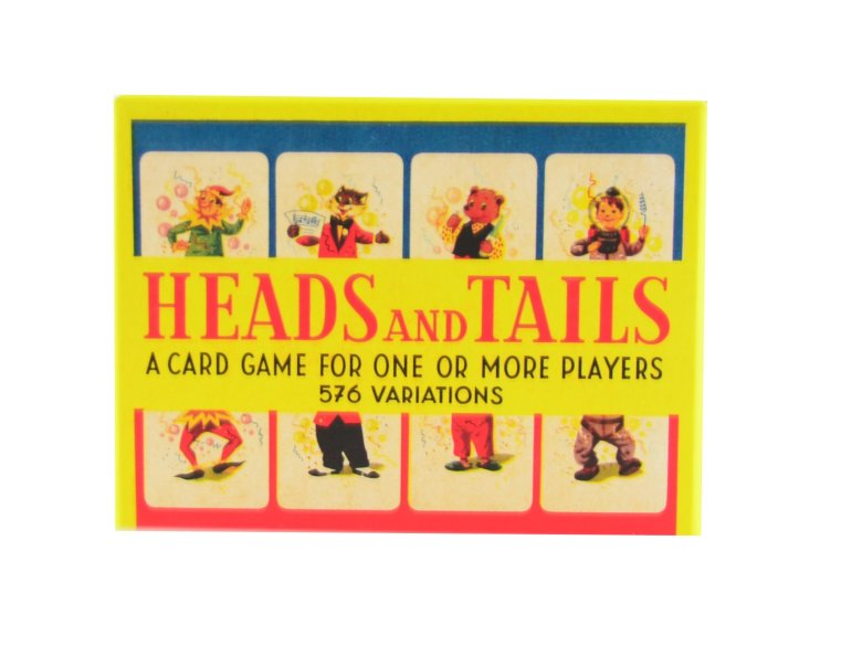 Kortspel heads and tails
